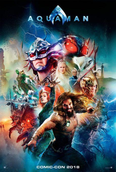 Aquaman (2018) Comic-Con Poster