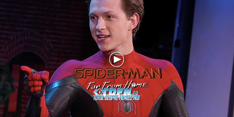 TOM HOLLAND Dezvăluie Noul Costum SPIDER-MAN Din Continuarea FAR FROM HOME