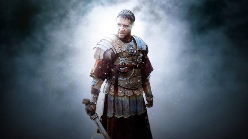 Personajul Maximus (Russell Crowe)