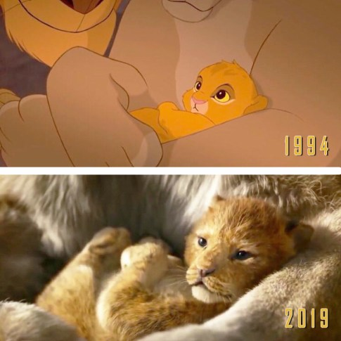Comparatie: The Lion King