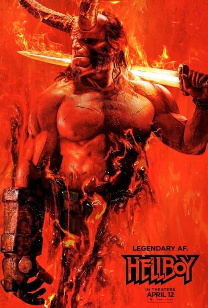 Hellboy 2019 Poster