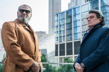 Laurence Fishburne si Ian Mcshane in JOHN WICK: CHAPTER 3 - PARABELLUM.