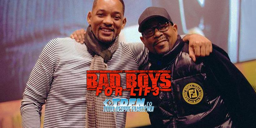 BAD BOYS 3 A Început Filmările: Vezi Un Clip Video Cu WILL SMITH În Acțiune