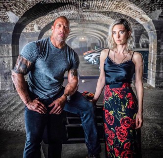 Dwayne Johnson si Vanessa Kirby