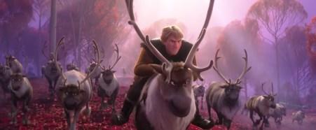 Kristoff si Sven in Frozen II