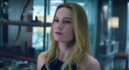 Brie Larson este Captain Marvel in Avengers: End Game