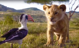The Lion King (2019) Zazu şi Simba