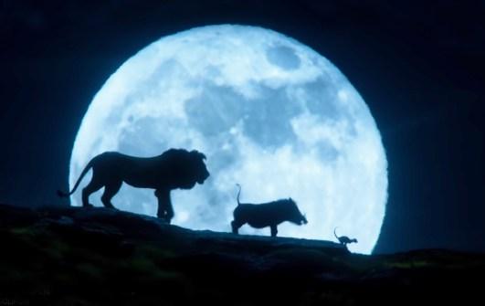 The Lion King (2019) Timon, Pumbaa şi Simba