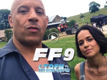 FAST AND FURIOUS 9: Vin Diesel Şi Michelle Rodriguez Sărbătoresc Prima Zi De Filmare
