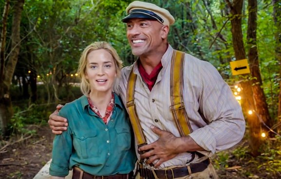 Jungle Cruise: Emily Blunt, Dwayne Johnson