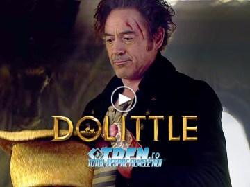 Primul Trailer DOLITTLE Îl Găsește Pe Robert Downey Jr. Vorbind Cu Animalele