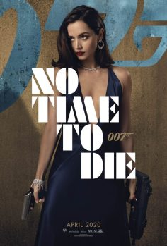 No Time To Die Poster: Ana De Armas