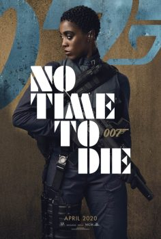 No Time To Die Poster: Lashana Lynch