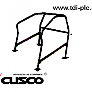 Cusco Bolt In Roll Cage > Cr-Mo 4 Point (Front Section