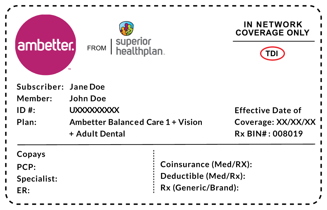Apart from a car insurance template, there are other documents that serve as proof of insurance: Health Plan Id Card Examples Showing Tdi Or Doi