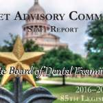 Bills to Change the State Board of Dental Examiners Introduced into Legislative Session