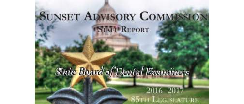 Bills to Change the State Board of Dental Examiners