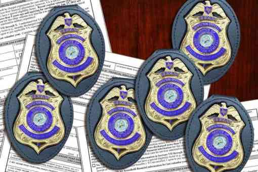 Former HHSC Chief Counsel Jack Stick's $87 OIG Badges