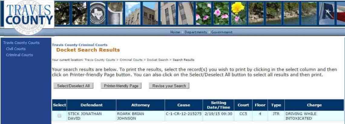 stick jury trial