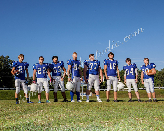 TD Photography: AJ Football Team 2013 &emdash; AJ 0168 Seniors