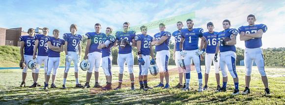 TD Photography: AJ Football Portraits 2014 &emdash; Seniors