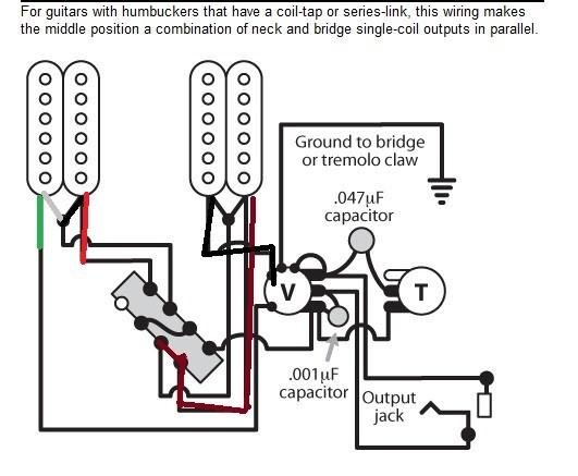 Dimarzio Wiring Diagram H H 3 Way Strat : 39 Wiring