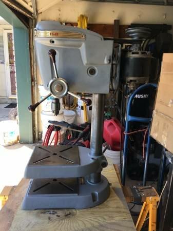 Sears Drill Press Milling Attachment