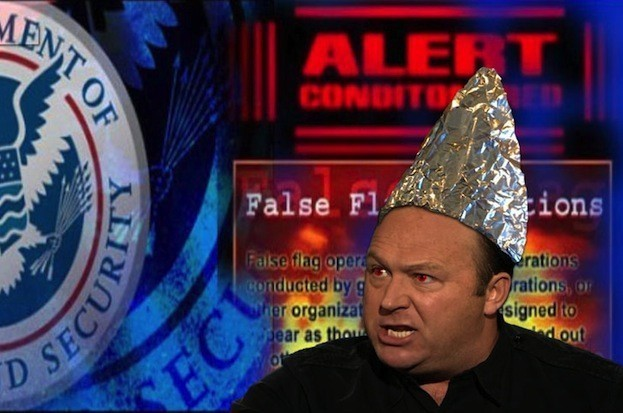 Image result for alex jones with tinfoil hat