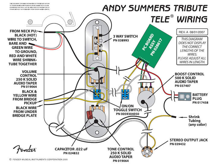 Tremendous Andy Summers Telecaster Wiring Diagram Basic Electronics Wiring Wiring Digital Resources Cettecompassionincorg