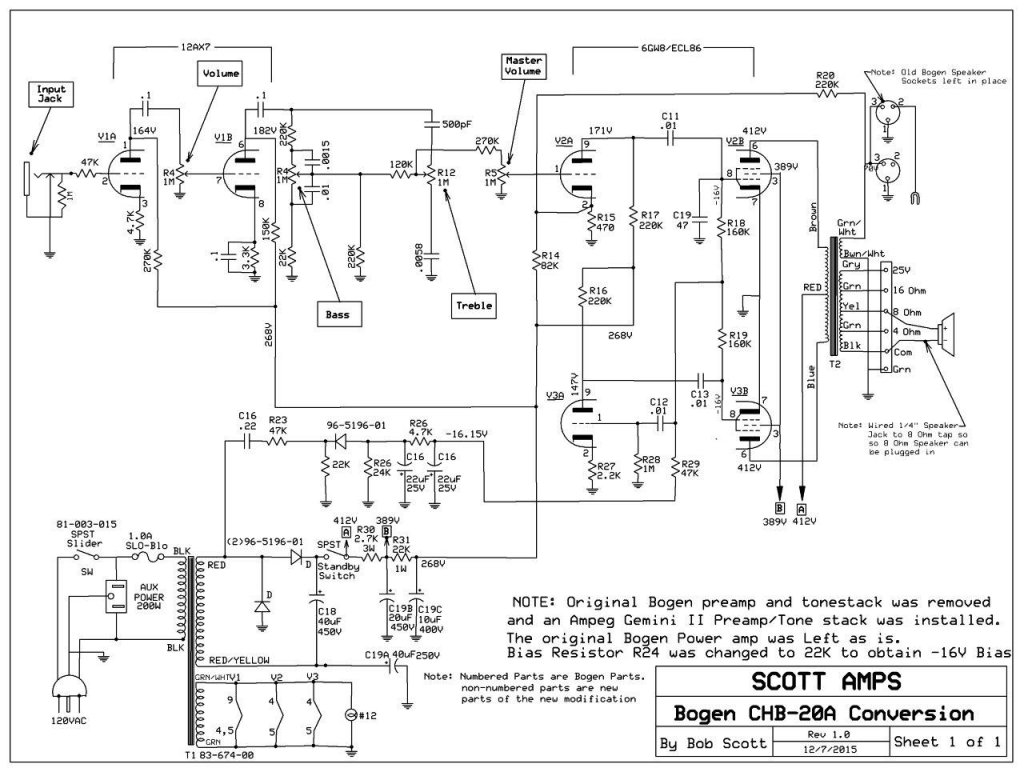 Bogen Transformer Wiring Diagram : 32 Wiring Diagram