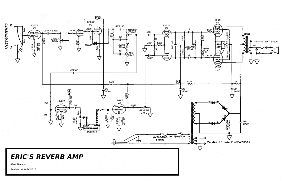 hight resolution of eric reverb amp as built 3 png