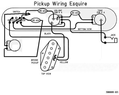 Fender Esquire Wiring Diagram : 29 Wiring Diagram Images