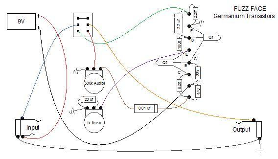 Fuzz Face Wiring Diagram : 24 Wiring Diagram Images