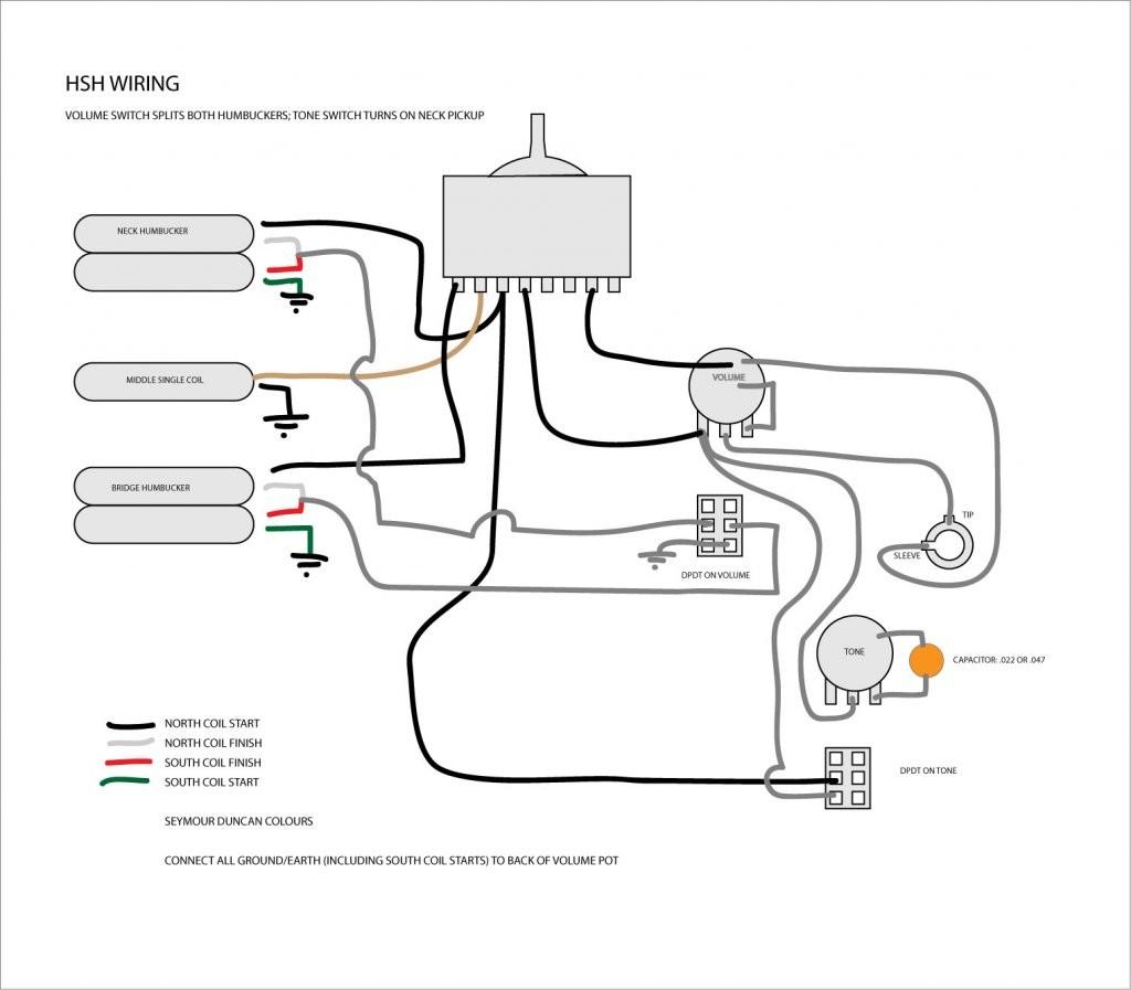 hsh wiring diagram push pull