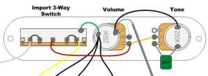 Telecaster Wiring Diagram Import Switch  Somurich