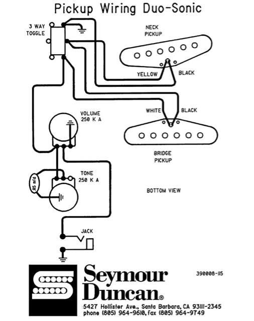 Danelectro Guitar Wiring Diagram