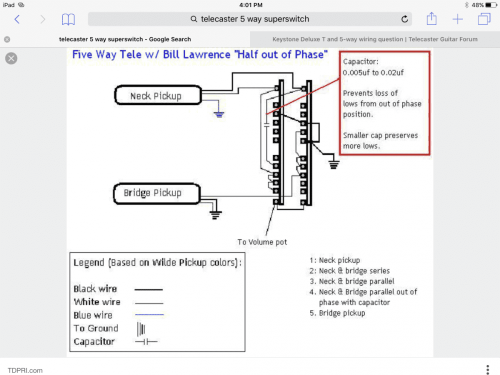small resolution of needed bill lawrence 5 way wiring with series option telecaster img 0302