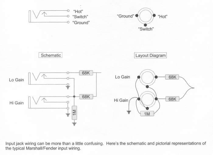 input barrel jack wiring scheme