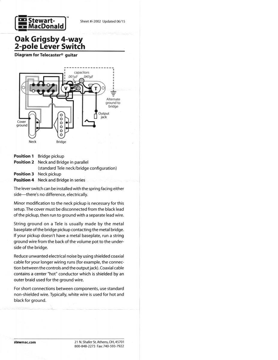 Lollar Pickup Wiring Diagram on tele deluxe wiring-diagram, 4-way flat wiring diagram, 4-way switch diagram, custom tele pickups wiring-diagram,