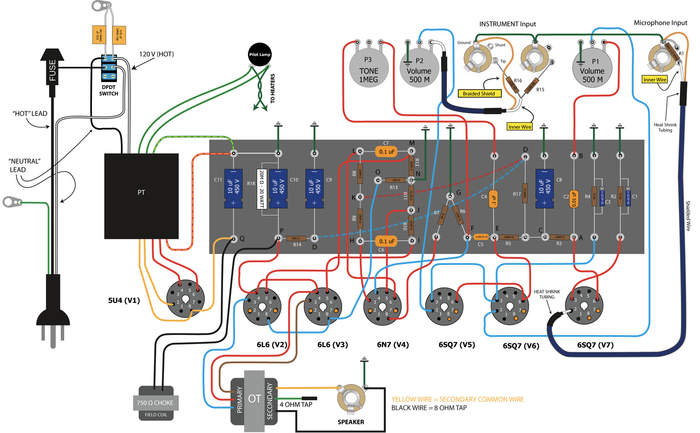 Schematic To Wiring Diagram Question Telecaster Guitar Forum
