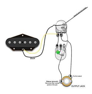 Esquire Wiring For No Switch, But With Vol And Tone Pots
