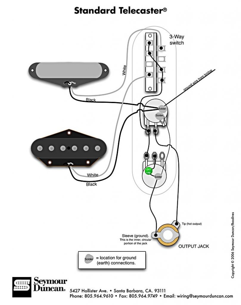 Wiring Diagram For Texas Specials Telecaster Guitar Forum