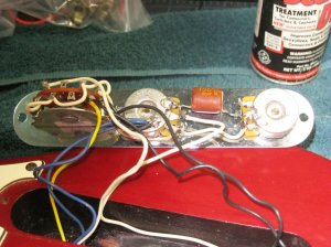 Remove greasebucket circuit to install Lollars? | Telecaster Guitar Forum