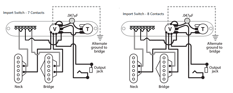 Guitar 3 Way Switch Wiring Diagram Import : 41 Wiring