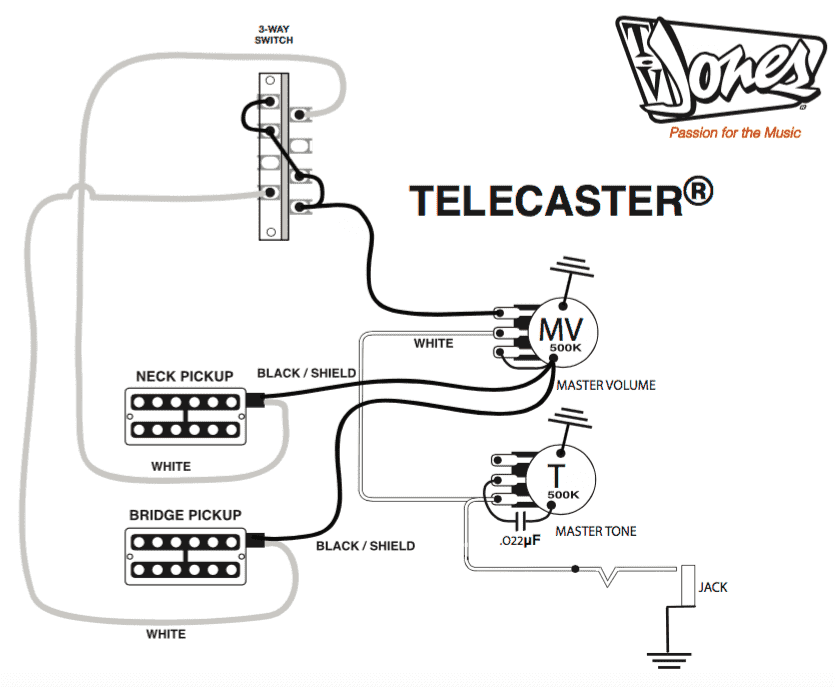 Tele Wiring Diagrams 3 Pickups Hecho telecaster neck