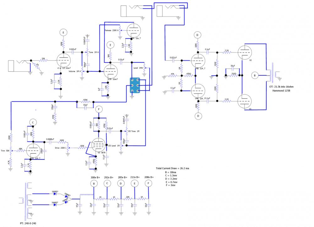 medium resolution of dumble amp wiring diagram