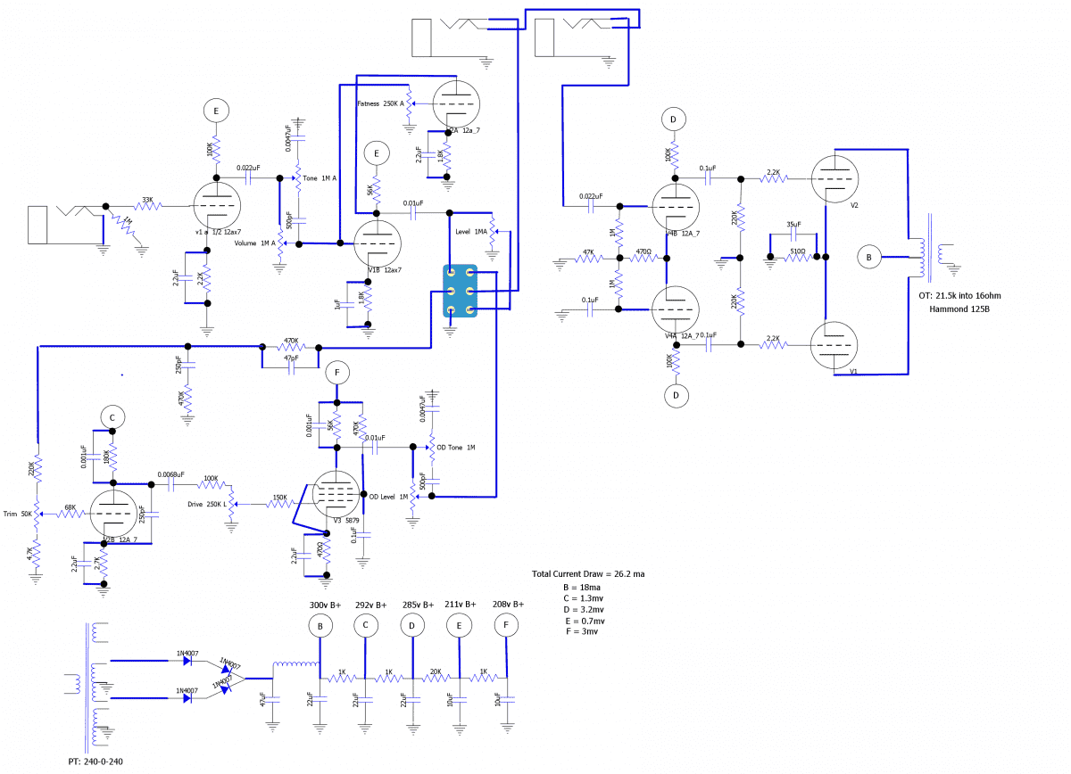 hight resolution of dumble amp wiring diagram