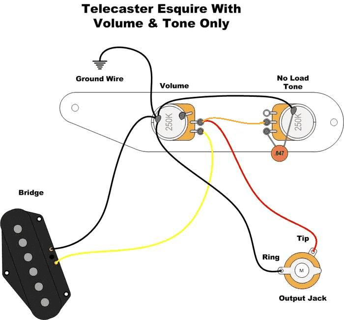 Guitar Wiring Diagrams 1 Pickup : 31 Wiring Diagram Images
