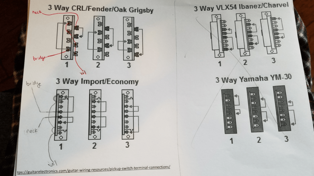 medium resolution of how to connect 3 way import switch telecaster guitar forum ibanez 3 way blade switch wiring