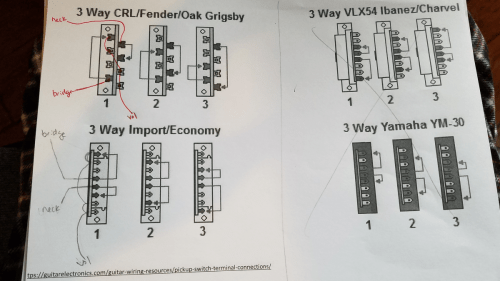 small resolution of how to connect 3 way import switch telecaster guitar forum ibanez 3 way blade switch wiring